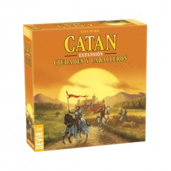 CATAN  - CIUDADES Y CABALLEROS - Devir