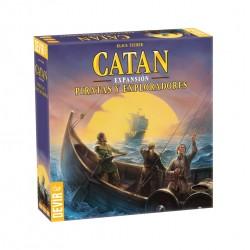 CATAN - PIRATAS Y EXPLORADORES - Devir