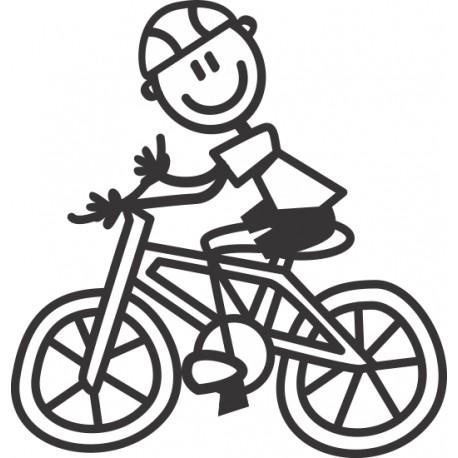 The Sticker Family - Papá Ciclista F17