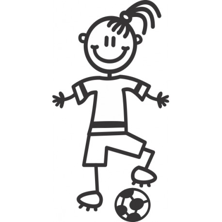 The Sticker Family - Niña Futbolista G14