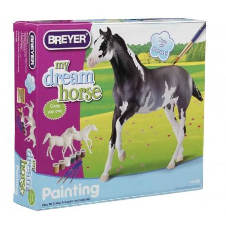 Breyer - Pinta tu Propio Caballo - 2 modelos (Árabe y Pura Sangre)