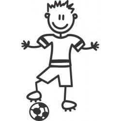 The Sticker Family - Chico Futbolista OB7
