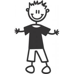 The Sticker Family - Niño Vestido B6